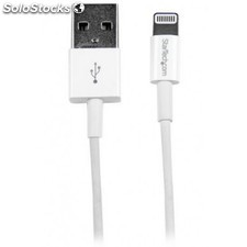 StarTech.com - Cable de 1m USB a Conector Apple Lightning Delgado de 8 Pines