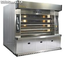Steam tube deck oven gas, 76 kw