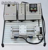 Step motor trainer for technical schools