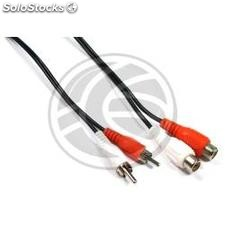 Stereo Audio Cable 15m (2xRCA-m/h) (VC35)