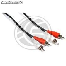 Stereo Audio Cable 15m (2xRCA-m/m) (VC25)