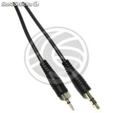 Stereo audio cable 2.5 mm male to 3.5 mm male 3 m (TW12)