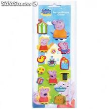 Sticker Relieve Peppa Pig (9x27 cm)