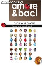 Stock amori & baci charms e beads