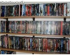 Stock cd & dvd musica & film