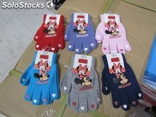 stock di guanti personaggi disney a 1 euro