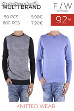 Stock Maglieria Uomo all sizes autunno/inverno