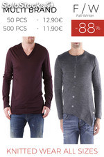 Stock Man's Knitted Wear all sizes F/W
