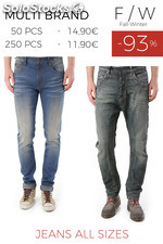 Stock Men's Jeans all sizes F/W