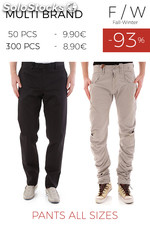 Stock Pantaloni Uomo all sizes autunno/inverno