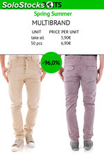 Stock Pantaloni Uomo Assortito P/E