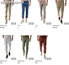 Stock Pantaloni Uomo Primavera/Estate