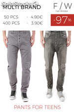 Stock Pants for Teens F/W
