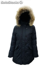 stock Parka donna in 2 colori