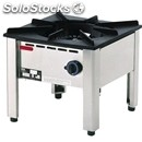 Stock pot, 1 burner - mod.ahb0001 - burner mm 180 kw 13 - dimensions mm l 500 x