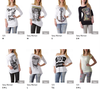 Stock T-Shirt Top Donna Primavera/Estate - Foto 4