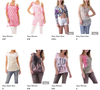 Stock T-Shirt Top Donna Primavera/Estate - Foto 5