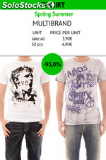 Stock T-shirt Uomo Primavera/Estate