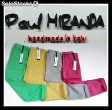 "Stock total look man ""Paul Miranda"" pants, shorts, jersey and shirt."