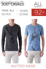Stock UOMO Maglieria Just Cavalli ALL Seasons