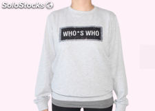 stock WHO'S WHO felpe donna. Sconto 95%