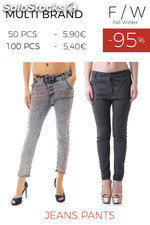 Stock Woman's Jeans Pants
