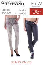Stock Woman's Jeans Pants Small Size