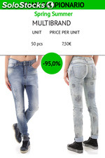 Stock Women's Jeans Samples