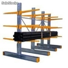 Stockage industriel, rayonnage cantilevers