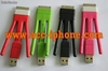 Strong various colors braided fabric usb cable for iphone 5 - Foto 2