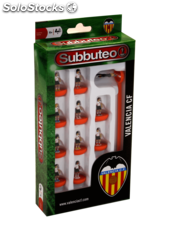 Subbuteo team box valencia cf