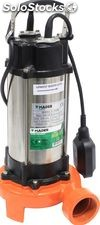 Submersible Pump w/ Outside Crusher - 1500 W - in Inox