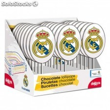 Sucette chocolat Real Madrid
