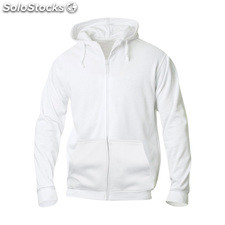 Sudadera basic hoody full zip