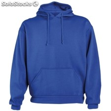 Sudadera capucha color: royal