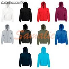 Sudadera capucha y cremallera classic ref. 620620 fruit of the loom