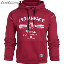 Sudadera full weight - brown - the indian face - 8433856057751 - 02-063-03-m