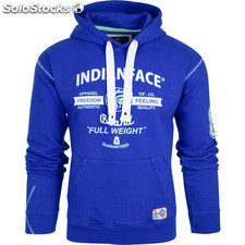 Sudadera full weight - royal blue