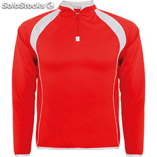 Sudadera Hombre m rojo/blanco school collection