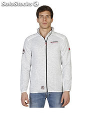 sudadera hombre norway geographical blanco (40010)
