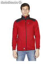 sudadera hombre norway geographical rojo (40007)