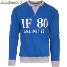 Sudadera if 80 unlimited - azul royal