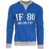 Sudadera if 80 unlimited - azul royal - the indian face - 8433856051308 -