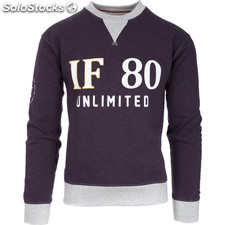 Sudadera if 80 unlimited - negro - the indian face - 8433856051223 - 02-056-01-l