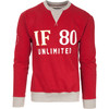 Sudadera if 80 unlimited - rojo - the indian face - 8433856051278 - 02-056-02-m