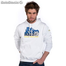 Sudadera indian rules blanca - blanca - the indian face - 8433856033328 -