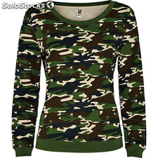 Sudadera Mujer m camuflaje bosque nature street collection