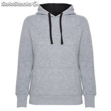 Sudadera Mujer m gris/negro casual collection invierno