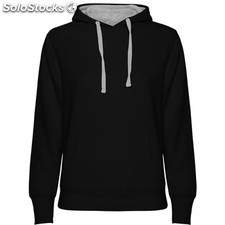 Sudadera Mujer m negro/gris casual collection invierno