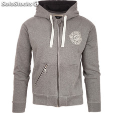 Sudadera zipper concept style - gris oscuro - the indian face - 8433856050714 -